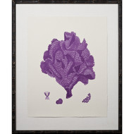 Purple Coral Giclee IV