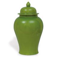 Apple Green Temple Jar