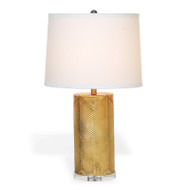 Westwood Gold Lamp With Cream Shade