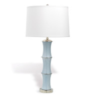 Rivoli Smoke Nickel Lamp