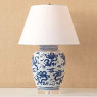 Dragon Navy Lamp