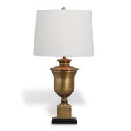 Robertson Brass Lamp - Linen Shade