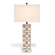 Mizner Key Brown Lamp