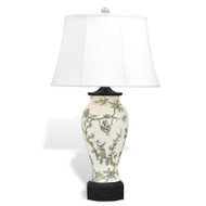 Windsor Toile Black Lamp