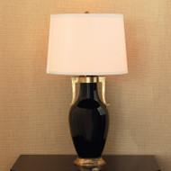 Glenda Black Lamp
