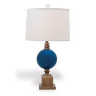Rutherford Turquoise Lamp
