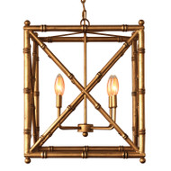Baldwin Gold Chandelier