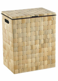Barclay Hamper With Lid - Pine