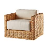 Heaslip Lounge Chair- Natural Kubu