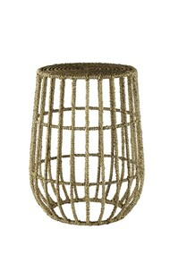 Jute Basket Spot table- Natural