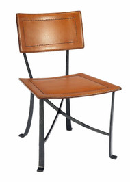 Klismos Wrought Iron Dining Chair