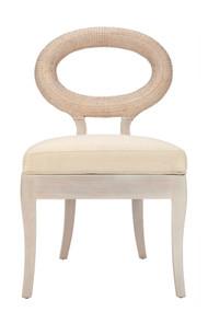 Libra Accent Chair - Winter White