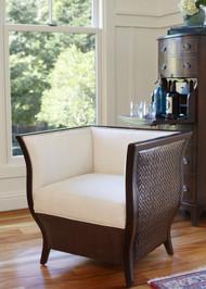 Lucca Tub Chair - Hazelnut Finish