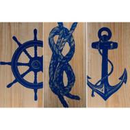 Marine Trio Panels - Set of 3