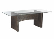 Riva Rectangle Hourglass Weave Dining Table
