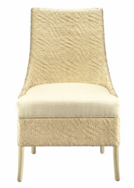 Riva Hourglass Weave Dining Chair