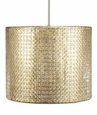 Seline Drum Pendant Light - Metallic