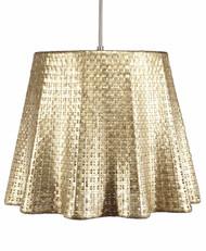 Seline Drapery Pendant Light - Metallic