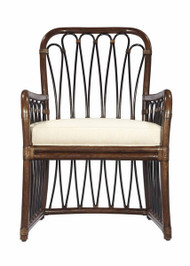 Sona Espresso Arm Chair