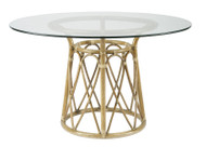 Sona Dining Table With Glass
