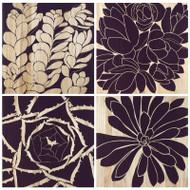 Succulent Panels - Set Of 4