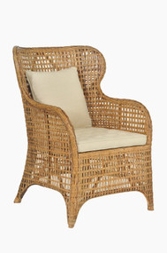 Tangier Wing Chair - Natural