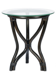 Tierta Side Table With Glass