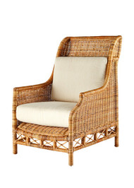 Windsor Wing Chair- Natural