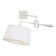 Real Simple Wall Mounted Boom Lamp - Stardust White Powder Coat