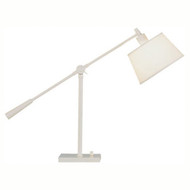 Real Simple Boom Table Lamp - Stardust White Powder Coat