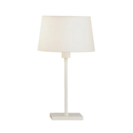 Real Simple Club Table Lamp - Stardust White Powder Coat