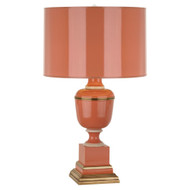 Mary McDonald Annika Table Lamp - Natural Brass - Tangerine Lacquer