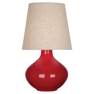 June Table Lamp - Ruby Red