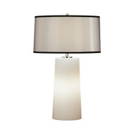 Rico Espinet Olinda Table Lamp - Short - Frosted White Glass