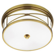 Chase Flushmount - Antique Brass