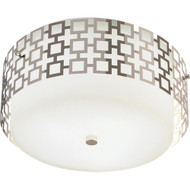 Jonathan Adler Parker Flushmount - Polished Nickel Finish