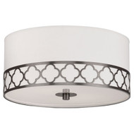 Addison Semi Flush Mount - Patina Nickel