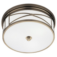 Chase Flushmount - Dark Antique Nickel