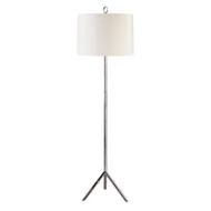 Jonathan Adler Meurice Club Floor Lamp - Polished Nickel