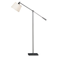 Real Simple Boom Floor Lamp - Gunmetal Powder Coat