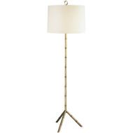 Jonathan Adler Meurice Floor Lamp - Antique Natural Brass
