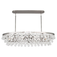 Bling Chandelier - Oval - Polished Nickel