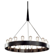 Rico Espinet Candelaria Chandelier - Large - Deep Patina Bronze