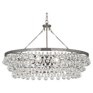 Bling Chandelier - Large - Polished Nickel