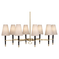 Jonathan Adler Ventana Oval Chandelier - Ebonyed Wood https://cdn3.bigcommerce.com/s-nzzxy311bx/product_images//w/ Antique Brass