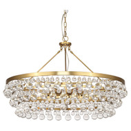 Bling Chandelier - Large - Antique Brass