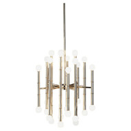 Jonathan Adler Meurice 30 Light Chandelier - Polished Nickel