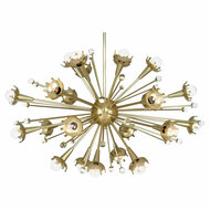 Jonathan Adler Sputnik Chandelier - Regular - Antique Brass