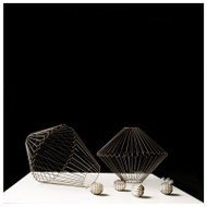 Fluted Conic Sculptures