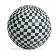 "Sphere Inlay Stone 16.5"" - Check"